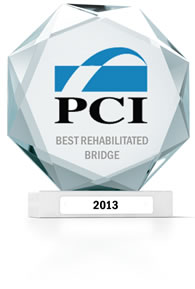2013 PCI Award - Best Rehabilitated Bridge